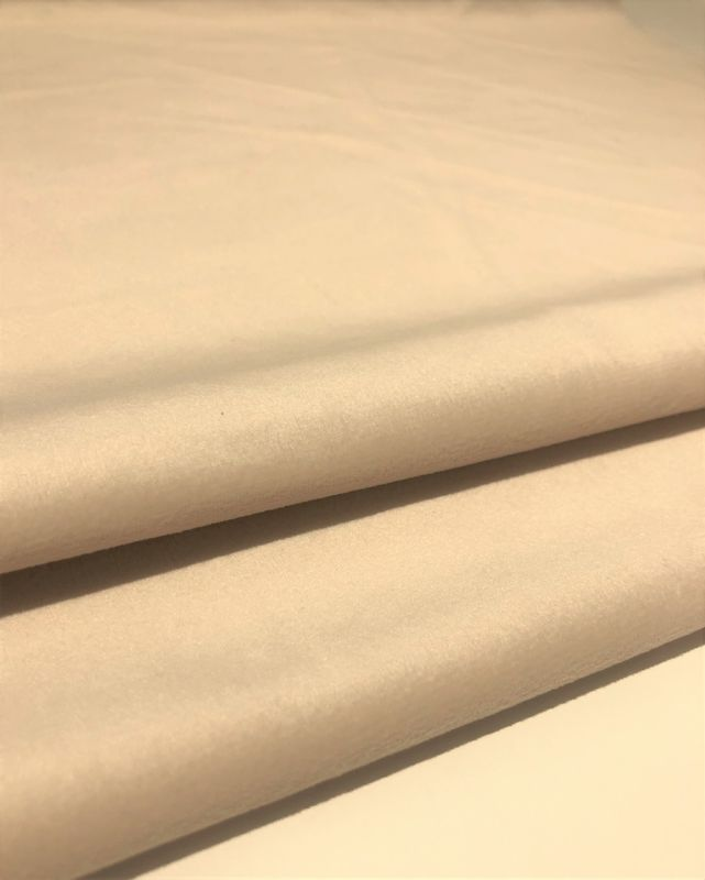 400GSM Holland Velvet Sofa Upholstery Fabric With Pongee Backing
